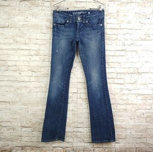 GUESS JEANS DAREDEVIL BOOT CUT SZ 27